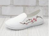15-1015-Белый-Сакура розовая.