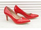 AL-Туфли женские лаковые-CT-20.Красный.