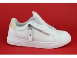 Мокасины женские- AL-AB-706 Белый