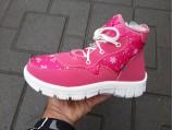15-Ботинки женские 112 Розовые.
