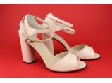 Босоножки женские кожаные-SLI 12.Беж.Размер:39.