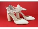 Туфли женские кожаные-SLI 14.Белые.Размер:36.