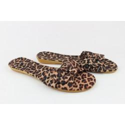 Шлёпанцы женские -KS-231 Тигровый.Размеры:36-39+38.38.(37-23.4 см.)