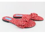 Шлёпанцы женские -KS-232 Красный.Размеры:37-40+37.38.(37-23.4 см.)