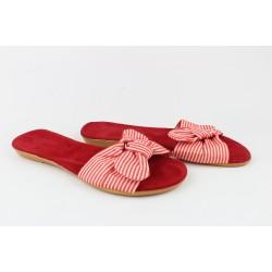 Шлёпанцы женские -KS-236 Красный.Размеры:37-40+39.40.(37-23.4 см.)