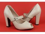 Туфли женские-AL-1265-Беж.