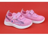Мокасины детские-702-2 Розовый.Размеры:20.21.23.24.25. 5 пар.